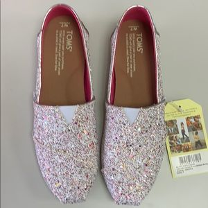 Brand New In Box, CANDY CANE GLITTER PARTY TOMS